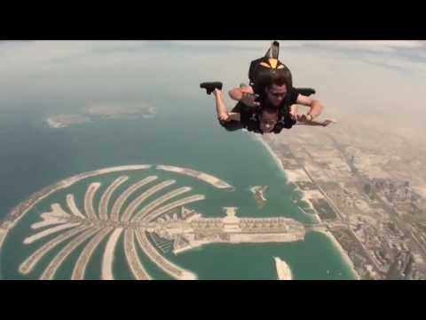My jump at SKYDIVE DUBAI - 2011 - Y&R