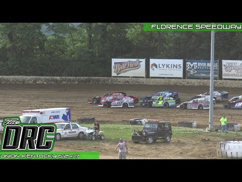Florence Speedway | 6/24/17 | American Modified Series | Heat 4