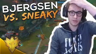 Bjergsen & Doublelift vs. Sneaky! - League of Legends Funny Stream Moments
