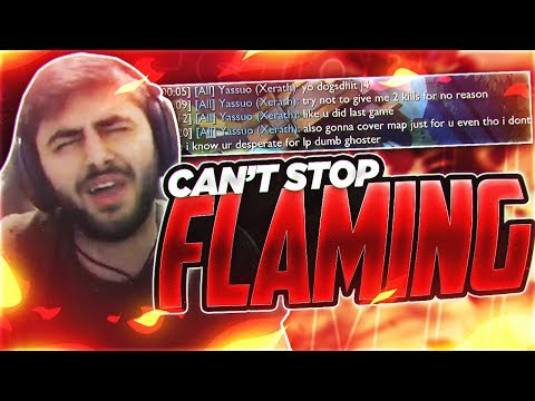 Yassuo | I CAN'T STOP FLAMING!!!