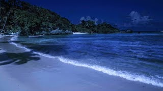 Ocean Sounds Lullaby for Sleeping on a Beach with Relaxing W...