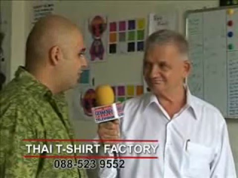 Thai T-shirt Factory in Pattaya