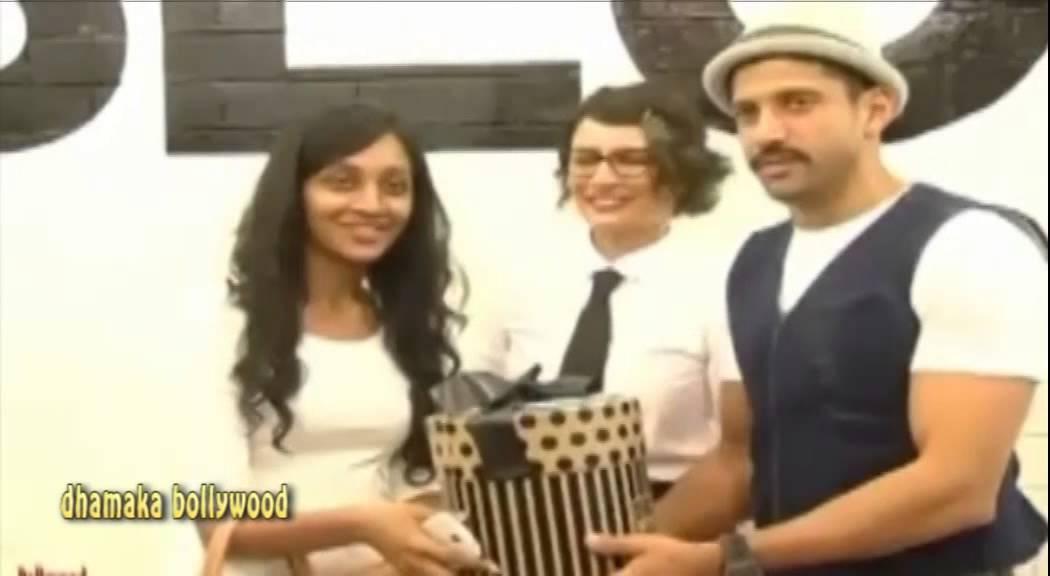 Farhan akhtar launched adhuna akhtar bblunt salon youtube for Adhuna akhtar salon