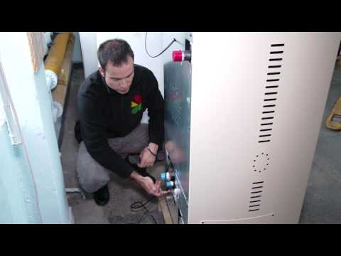 "How to clear alarm ""E112"" on a pellet stove Eco Spar Auriga 25kW"