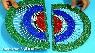 How to Make DIY Organizer from Waste Cardboard Crafts I DIY handmade Craft from Best out of Waste