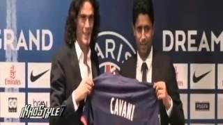 SEE - Cavani Presentation in Paris Saint Germain