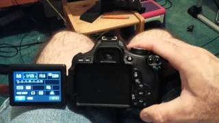 How To Reset Settings On Canon EOS 600D/T3i - factory settings