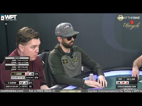 WPT Legends Of Poker Main Event Final Table - Live At The Bike!