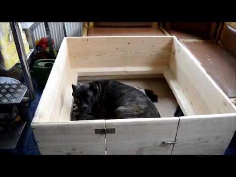Родильный ящик для собак своими руками