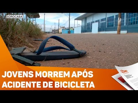 Jovens morrem após acidente de bicicleta - TV SOROCABA/SBT