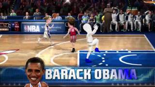 NBA Jam - PS3 | Wii | Xbox 360 - USA Politicians official video game trailer HD