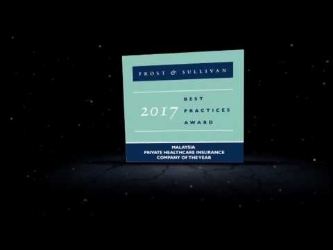 Best Private Healthcare Insurance Company of 2017 by Frost & Sullivan  | Zurich Malaysia