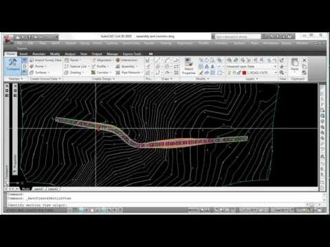 AutoCad Civil 3D - Creating Cross Sections from YouTube · Duration:  3 minutes 56 seconds