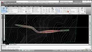 AutoCad Civil 3D - Creating Cross Sections
