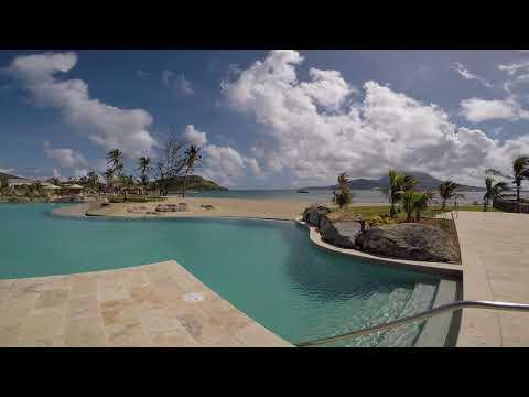 Park Hyatt St. Kitts: Pool to Beach