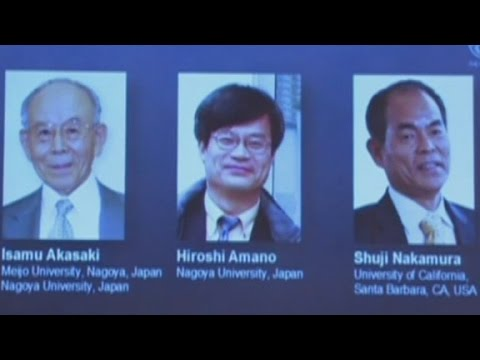 2014 Nobel Prize in physics announced