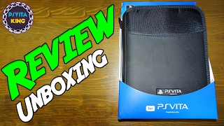 PS VITA Deluxe Travel Case 4Gamers (SPC9002) Review | Best Vita Case!