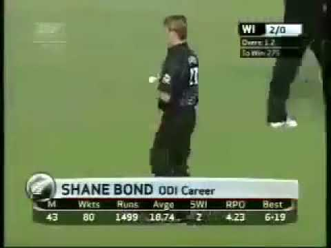 Shane Bond - Best bowl/delivery ever