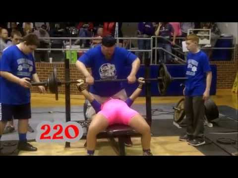 Talor Parker 960 lbs @ 165 (SP) THSWPA  Wills Point Texas 02/14/15