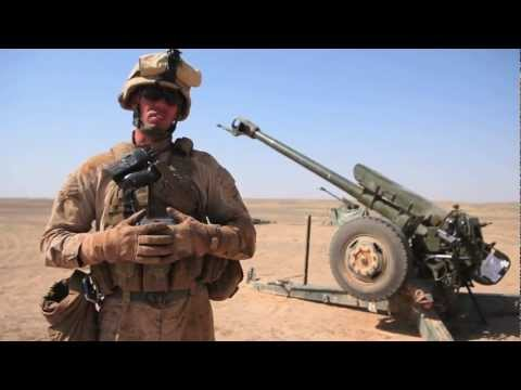ANA artillerymen set up and fire the D-30 122mm Howitzer