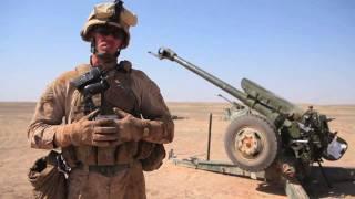 Ана артилеристи створили і вогонь Д-30 122мм гаубиця