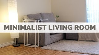 MINIMALIST LIVING ROOM | IT'S TOO EMPTY?
