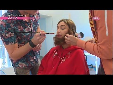 Maskirana Maya Berović u Knez Mihailovoj ulici (Ami G Show S11)