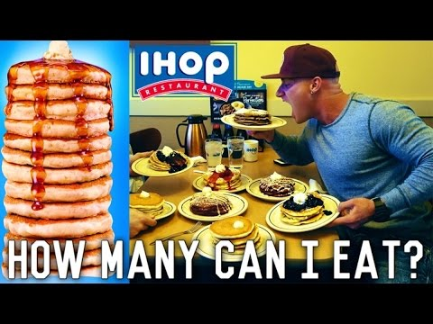 IHop All You Can Eat Pancake Challenge | EPIC CHEAT DAY