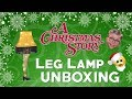 A Christmas Story Leg Lamp Unboxing