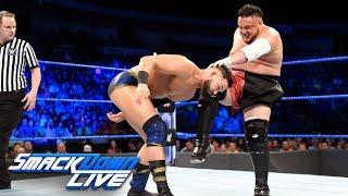 Tye Dillinger vs. Samoa Joe: SmackDown LIVE, July 17, 2018