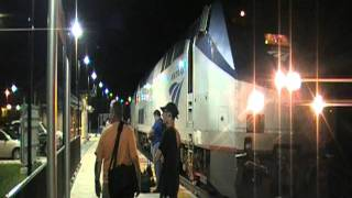 Amtrak PO29 Crew Change with Tony at Connellsville,PA