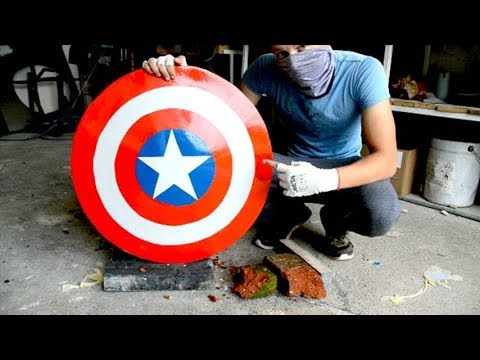 Homemade Heavy Duty Captain America Shield