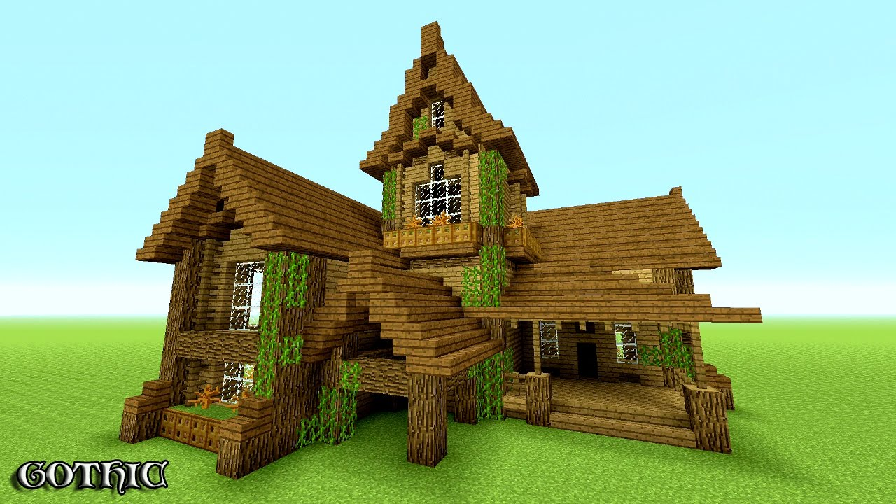 MINECRAFT How To Build A Survival House Best Survival House - Cool minecraft houses survival