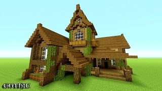MINECRAFT: How To build A survival House   Best survival House 2016 -2017 ( Hd ) Tutorial
