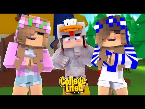OUR FIRST PRANK IN COLLEGE! | Minecraft College Life | Little Kelly