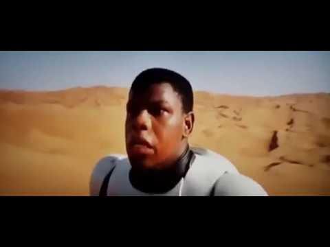 Finn in Star Wars Force Awakens