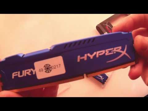 Оперативная память HyperX DDR3-1866 8192MB PC3-14900 (Kit of 2x4096) FURY Blue (HX318C10FK2/8)