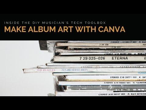 How to Make Album Artwork with Canva