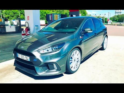PARIS À MONACO EN FORD FOCUS RS!