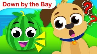 Down by the Bay | Classic Nursery Rhymes and Fun Kids Songs by Little Angel
