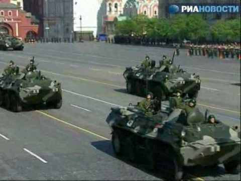 Nga diễu binh trên quảng trường Đỏ