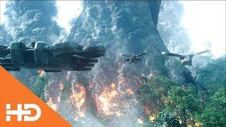 Авиация уничтожает дерево Оматикайя ✦ Аватар (2009)