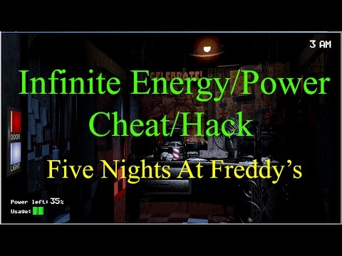 Infinite Energy-Power:Cheat/Hack-Five Nights At Freddy's Night 7:10/10/10/10