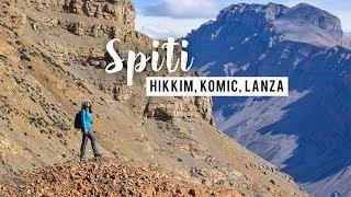 5 Places to Visit in Spiti Valley | Kaza, Hikkim, Lanza, Komic, Market | Spiti Valley Vlog 2