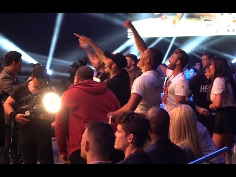 Stars Of Geordie Shore Go Crazy As Aaron Chalmers Wins At Bellator 200