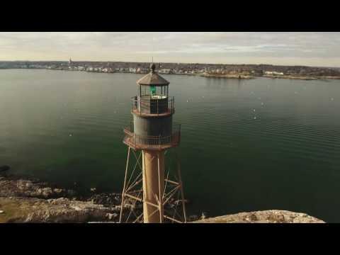 Marblehead Lighthouse, Marblehead Ma. 4K