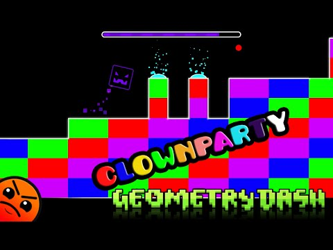 GEOMETRY DASH clownparty remix