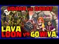 BEST WAR TH 9 - UDARA VS DARAT   LAVALOON VS GOWIVA, Siapa Terbaik??  - Clash Of Clans Indonesia