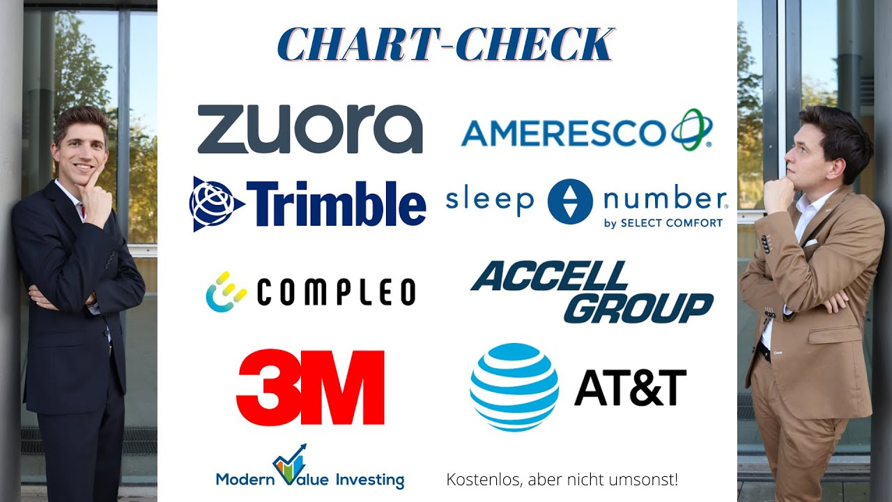 Zuora kaufen? AT&T - Accell Group - Trimble - Ameresco - Sleep Number - 3M - Compleo / ChartCheckMVI