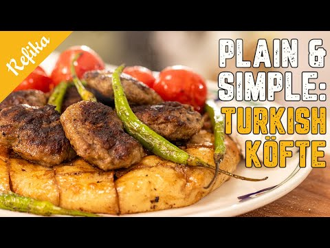 Perfect MEATBALL Recipe! 🥇Must Try the Turkish way: Magical KOFTE 🏆🎯🥳